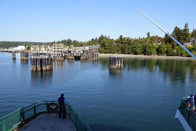 SR 305 @ Bainbridge Island Dock