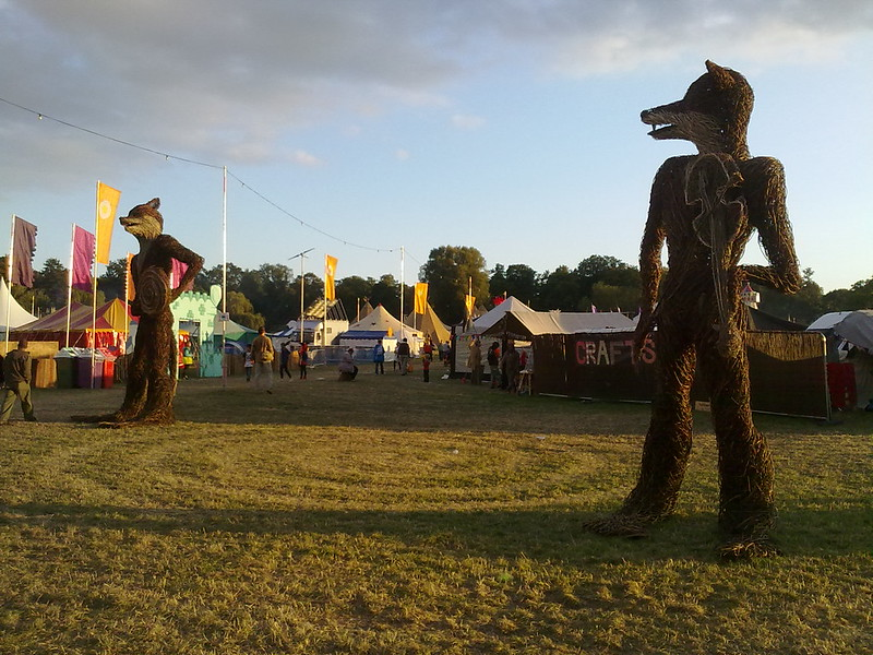 Shambala Festival Site Art (Fantastic Mr Foxes)