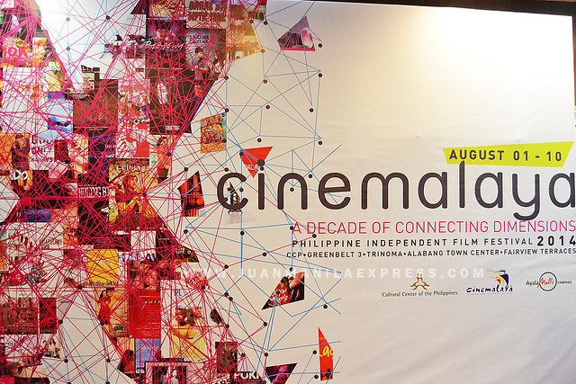 X: CINEMALAYA 2014. X: Cinemalaya 2014 runs until August 10, 2014.