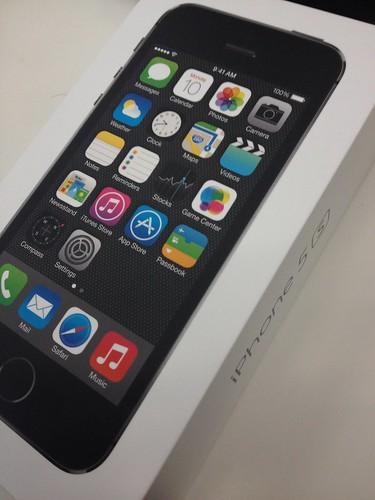箱入りiPhone 5s