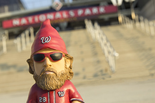 Jayson Werth garden gnome; don't leave gnome without it!