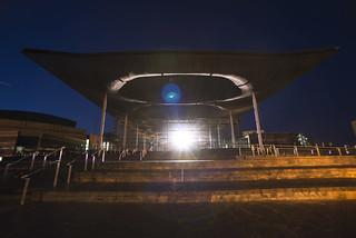 World War 1 #LightsOut Remembrance Event, Senedd,  4 August 2014 #WalesRemembers. Photo by Jon Pountney / #LightsOut - Digwyddiad Cofio'r Rhyfel Byd Cyntaf, y Senedd, 4 Awst 2014 #CymrunCofio. Llun gan Jon Pountney
