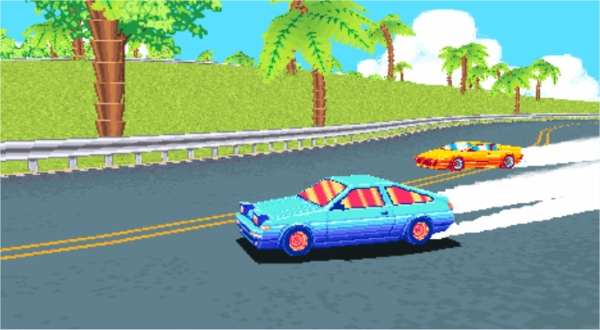Drift Stage A Racing Game With Retro S Music I Think I M