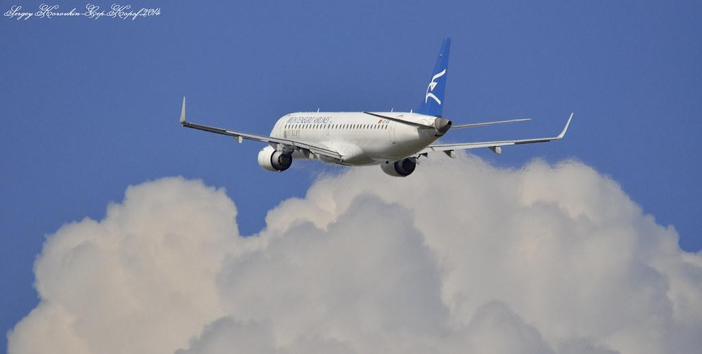 Embraer ERJ190-200LR Montenegro Airlines 4O-AOB №2