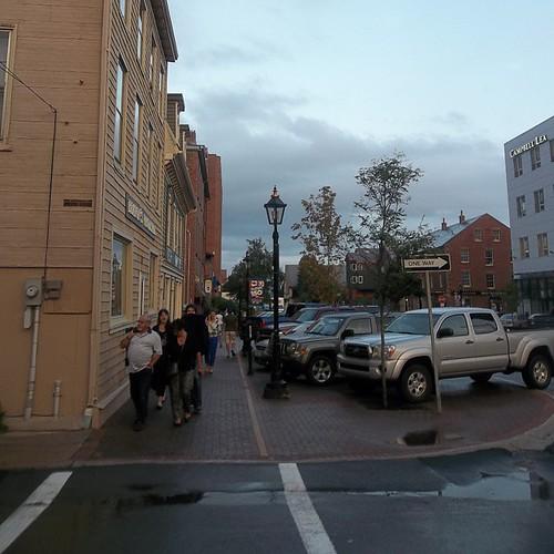 Walking down Queen Street, Charlottetown #princeedwardisland #pei #charlottetown #queenstreet
