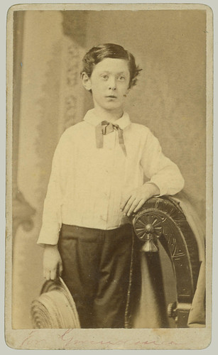 CDV young man