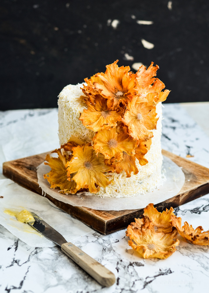 Just Smile Layered Passion Fruit Butter Cake With