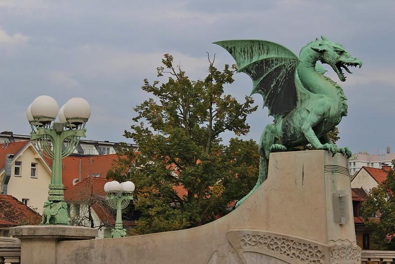 Ljubljana's dragon