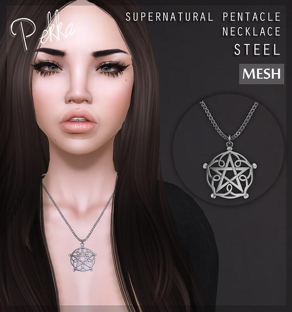pekka supernatural pentacle steel
