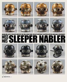 threeA –【NABLER】SLEEPER NABLER vs. CLASSIC NABLER V.2 隨機來襲!