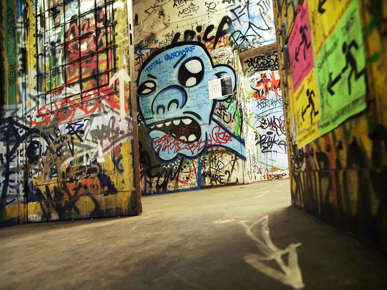 Architecture à Berlin - À l'intérieur du Tacheles