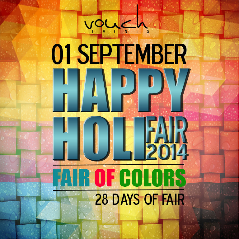 Happy Holi Fair - Fair of Colors