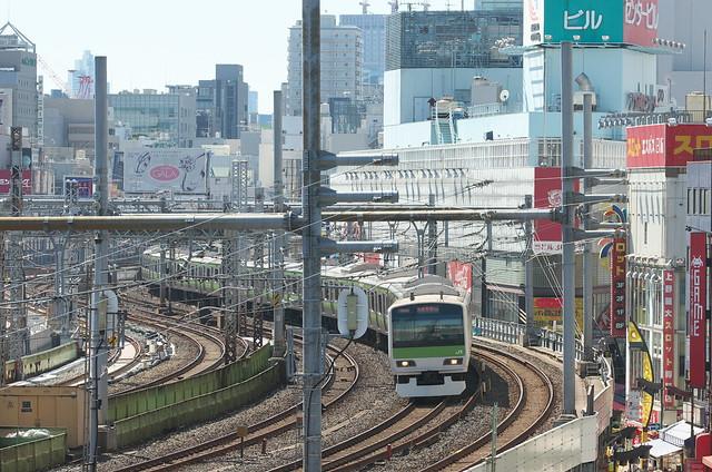 Tokyo Train Story 山手線 2014年9月14日