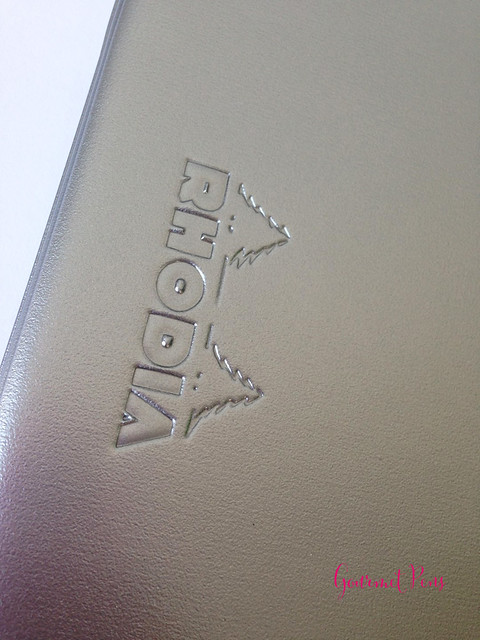 Review: Rhodia No. 16 Cover & Jotter - Silver @NoteMakerTweets