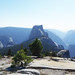 View to Half Dome, from Clouds Rest by natech