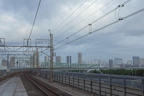 新木場駅 early morning