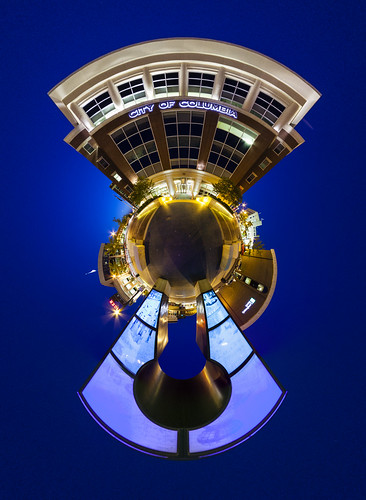 """City of Columbia"" downtown ""City Hall"" Missouri Columbia ""Columbia Missouri"" Notley ""Notley Hawkins"" 10thavenue ""University of Missouri"" http://www.notleyhawkins.com/ ""Missouri Photography"" ""Notley Hawkins Photography"" ""Boone Bounty"" BoCoMo ""Boone County Missouri"" summer pano 360 planet ""little planet"" 2014 August ""blue hour"" ""The Blue Hour"" architecture panorama"