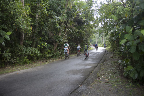 Cycling on Pulau Ubin