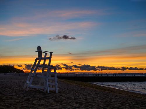 ocean morning sky haven west beach clouds sunrise connecticut shoreline august olympus f18 25mm 2014 fav35 ep5