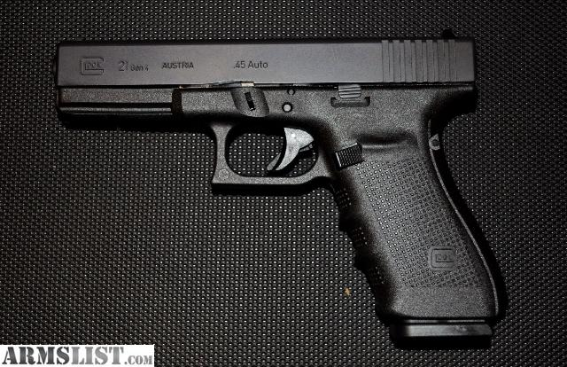 Glock 21 Gen4 Black Or Fde Ar15com
