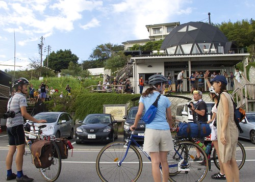140831 RIDEALIVE Camp & Ride in Mikawa@CAFE OCEAN