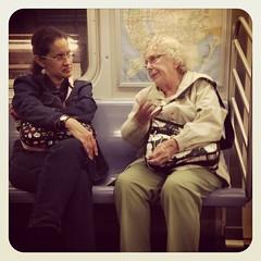 Friday afternoon Q train. #nycsubwayportraits #nyc #train #subway #publictransportation #commute #brooklyn #Qtrain