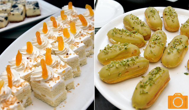 Sabores De Mexico White Forest Cake and Eclair