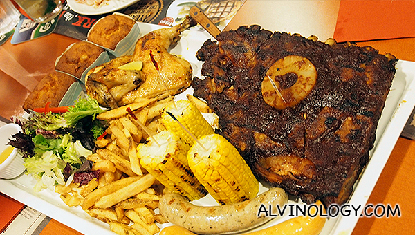The Carnivore - S$95.90 (serves 3 to 5 pax)