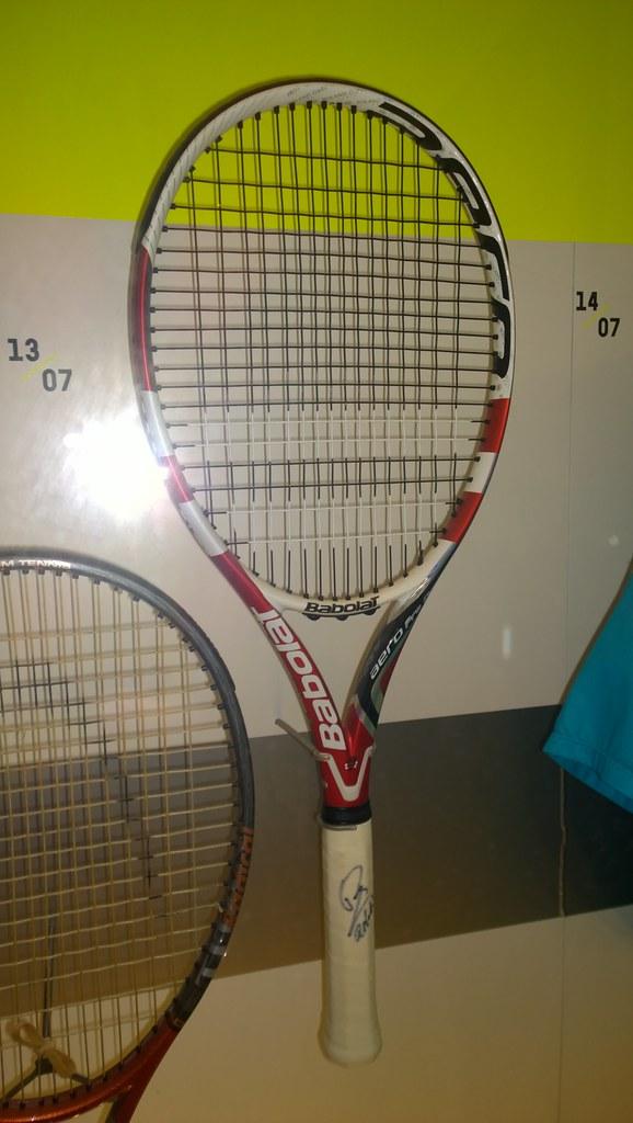 Rafael Nadal Babolat racquet