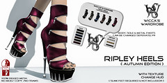 Wicca\'s Wardrobe - Ripley Heels [Autumn Edition]