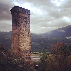 Defense tower in #svaneti