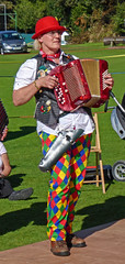Accordionist, Sowerby Bridge Rushbearing Festival