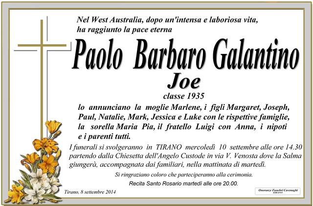 Galantino Paolo Barbaro