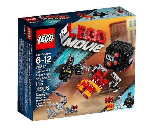 The LEGO Movie 70817 Box