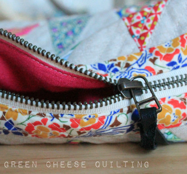 Liberty Triangle Boxy Pouch
