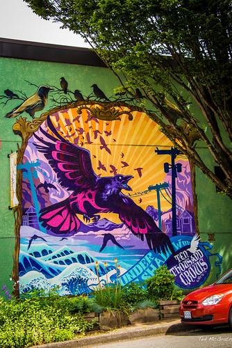 art birds vancouver flora nikon mural colorful dedos cropped publicart crows vignetting vancouverbc xochitl wallmural d600 vancouvercity nelsongarcia cans2s tedsphotos nikonfx nelsondedosgarcia tenthousandcrows nomadicalternatives d600fx nomadicalternativesproductions undertheshadowoftenthousandcrows