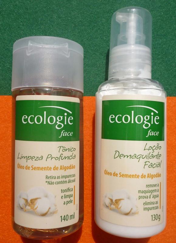 Testei: Demaquilante e Loção de Limpeza Ecologie