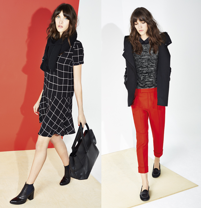 comptoir des cotonniers aw14/15 barbara crespo fashion brands otoño invierno new collection fashion blogger blog de moda