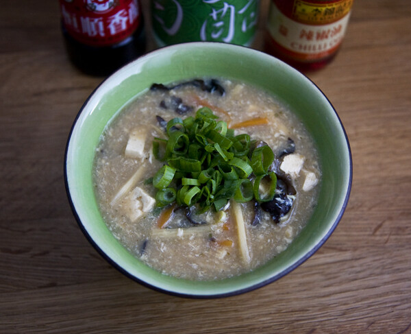 Vegetarian Hot & Sour Soup Recipe