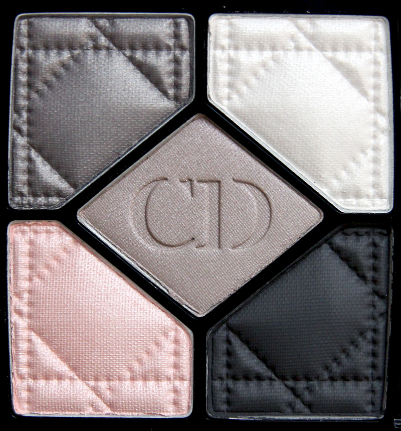 Dior bar 5 couleurs eyeshadow palette2