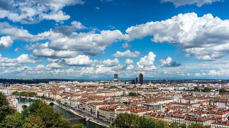 Lyon from Saint-Just
