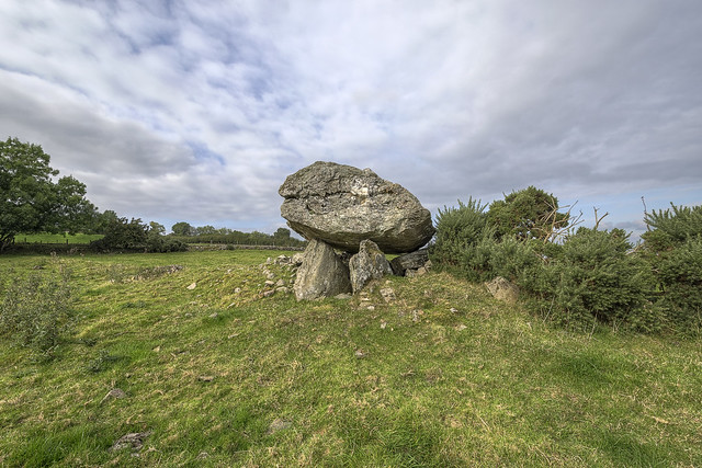Leitrim Portal Tomb - Northern Ireland