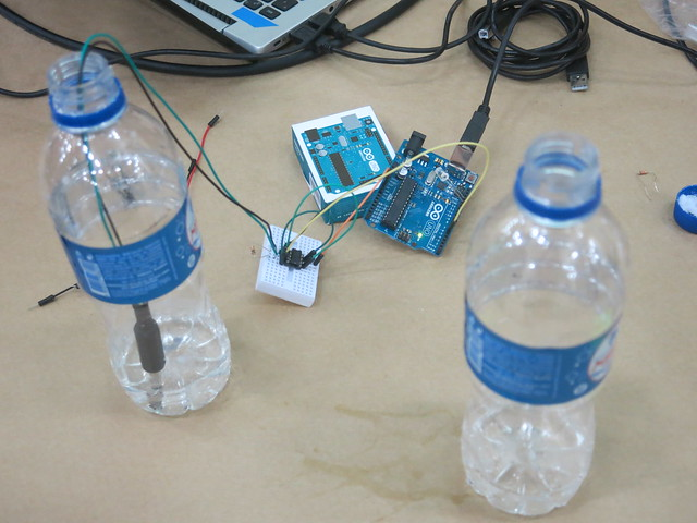 Testes de água