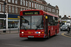 metropolitan area, vehicle, transport, public transport, dennis dart, land vehicle, bus,