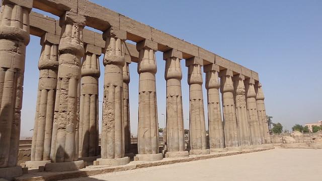 Luxor Temple Columns, Sony DSC-H90