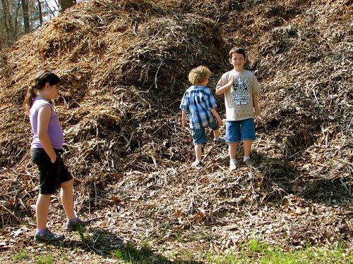 2008 April 7, St Florian Park with Grandkids
