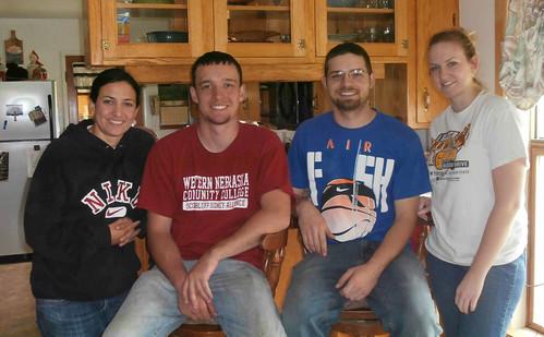Ashley, Brandon, James and Megan