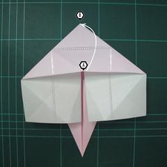 การพับกระดาษเป็นไดโนเสาร์ทีเร็กซ์ (Origami Tyrannosaurus Rex) 013