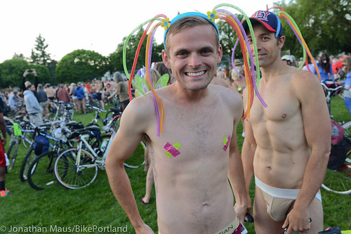 2014 World Naked Bike Ride -26