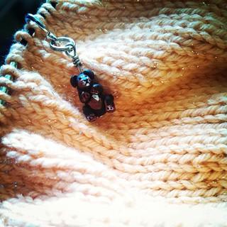 Just a little lazy Sunday #knitting ... #knitstagram #LouisaHarding #jasmine #yarn Tut #stitchmarker #dogstagram #babyknits #getyourkniton #handmade #handknit birthday gift #instaknit